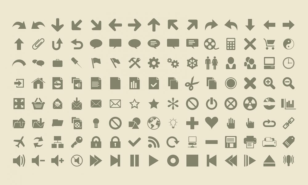 Icon (ไอคอน) และ Icon Font (ไอคอนฟอนต์)