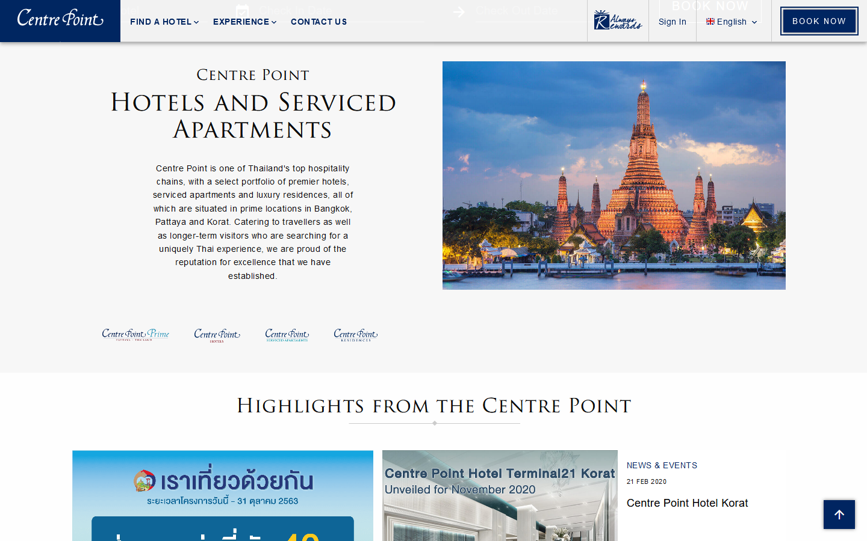 Centre Point โรงแรม&เซอร์วิสอพาร์ทเมนต์